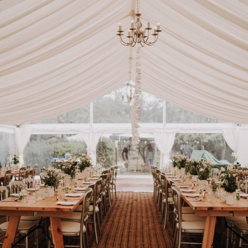 Clear Wedding Marquee